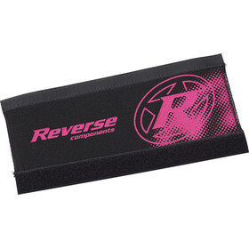 Reverse Neoprene Chainstay Guard, black/candy